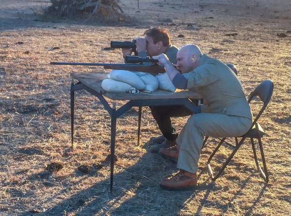 John Torcasio: Sighting in a 416 Weatherby Magnum rifle